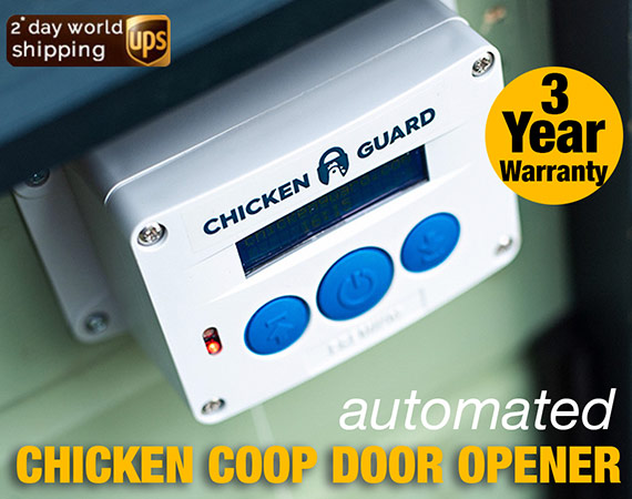 Auto Chicken Coop Door Opener #2 Electric Henhouse Guard Auto Door Opener USA