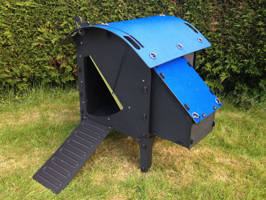 Win a Green Frog Coop with ChickenGuard