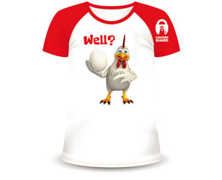ChickenGuard's Well T-Shirt