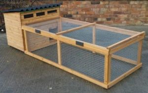 Southmead Poultry's Milford traditional wooden Chicken House & Run