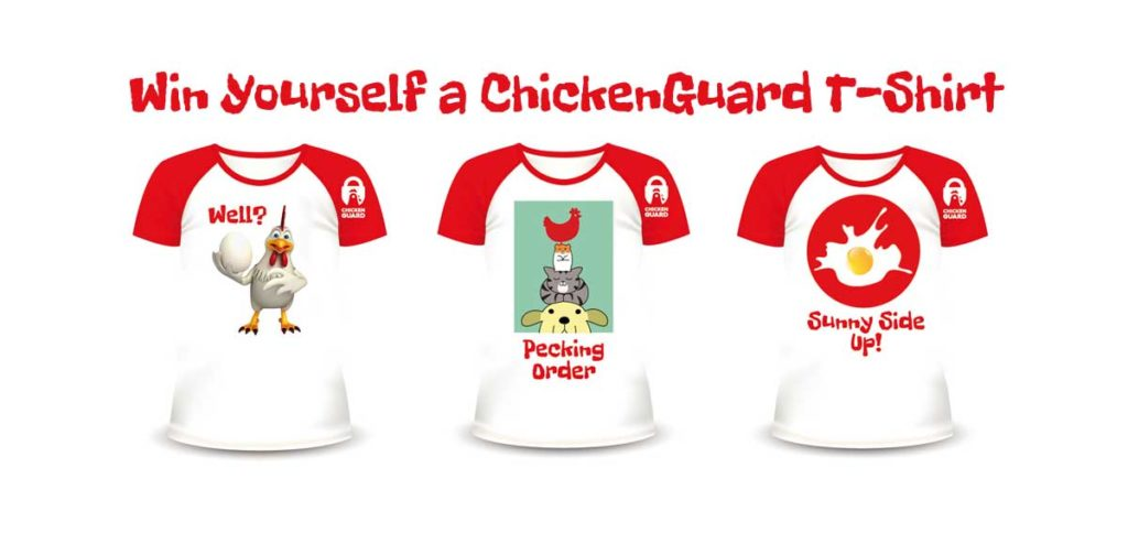 ChickenGuard T-shirts