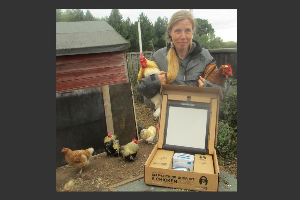 Wonky Pet Rescue with their ChickenGuard Premium Combi