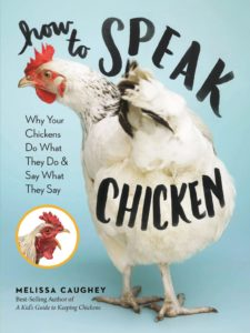 How to speak chicken - a great gift for chicken keepers