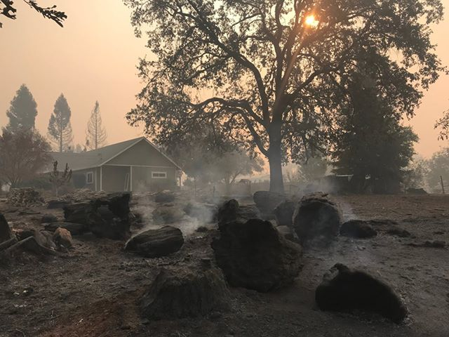 Fire tore through Paradise on 8th November 2018